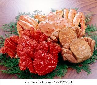 Ke-gani (hairy crab), Taraba-gani (red king crab)