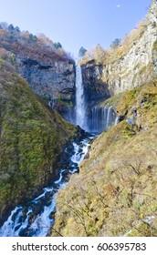 Kegon Falls in Nikko, Japan