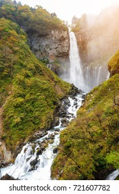 Kegon Japan highest Waterfall at Nikko National Park in Tochigi Prefecture in Japan
