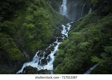 Kegon waterfall in Nikko, Japan