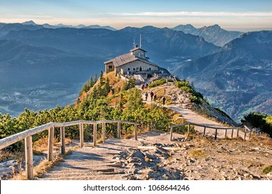 Kehlstein Eagles Nest Berchtesgaden Bavaria Germany Alps View Landscape