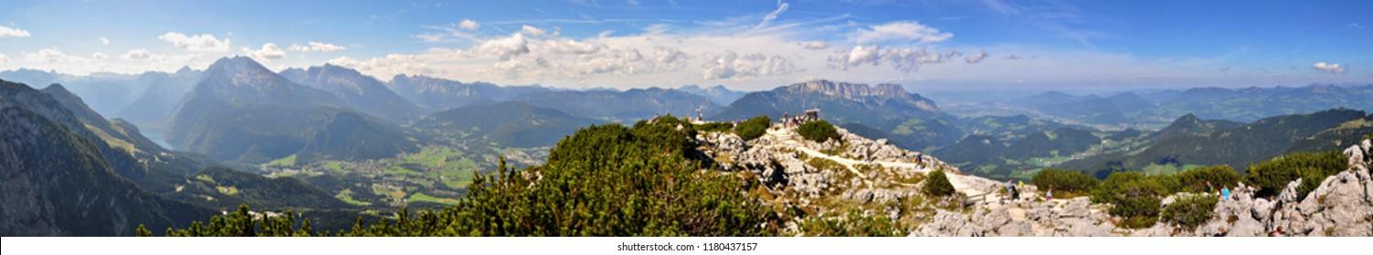 Kehlsteinhaus panorama view