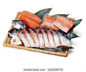 Keiji salmon (It's valuable whether or not take one fish caught 10,000 fish)