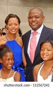 Keisha Whitaker with Forest Whitaker and family at the ceremony honoring Forest Whitaker with the 2,335th Star on the Hollywood Walk of Fame. Hollywood Boulevard, Hollywood, CA. 04-16-07