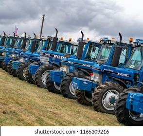 KEITH, MORAY, SCOTLAND – 12 AUGUST 2018:- This is one of agricultural displays of the Keith Country Show, Moray, Scotland on 12 August 2018.