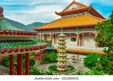 Kek Lok Si temple, a Chinese Buddhist temple situated in Air Itam in Penang