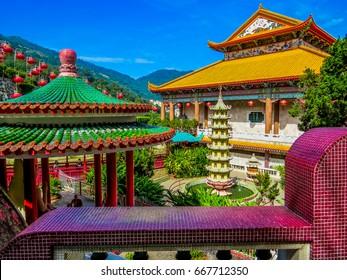 Kek Lok Si Temple. Penang, Malaysia