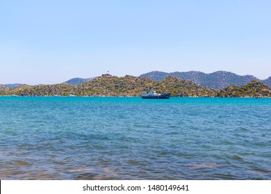 Kekova includes Ucagiz a village on the coastline, Kalekoy (Simena) village with its famous fortress, and Kekova Island that stretches out to the historical sunken city across from Kalekoy.