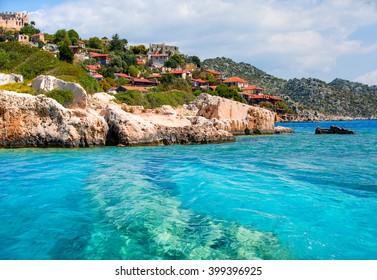 Kekova island, Antalya Turkey