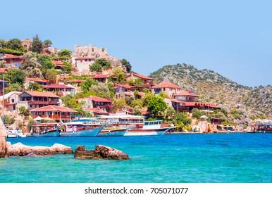 Kekova island (ucagiz -Kale), Antalya Turkey