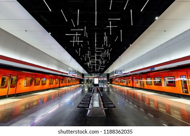 Kelaniemi Station is located near Espoo and is one of the most beautiful and modern underground station in Helsinki, Finland