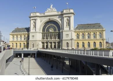 Keleti railway station in Budapest
