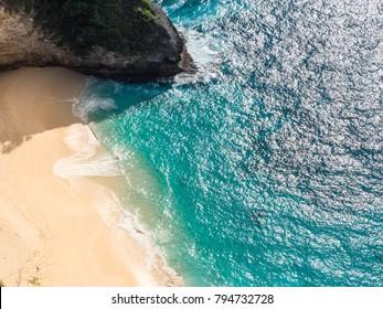 Kelingking Beach at Nusa Penida Island, Indonesia