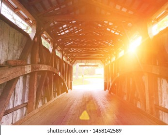 The Keller's Mill Covered Bridge is a covered bridge that spans Cocalico Creek in Ephrata Township, Lancaster County in the US state of Pennsylvania.