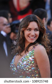 """Kelly Brook at the gala screening of """"Killing Them Softly"""" in competition at the 65th Festival de Cannes. May 22, 2012  Cannes, France Picture: Paul Smith / Featureflash"""