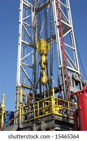 Kelly on a drilling rig