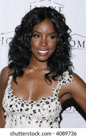 Kelly Rowland attends her record release party at HOME on July 10, 2007 in New York City.