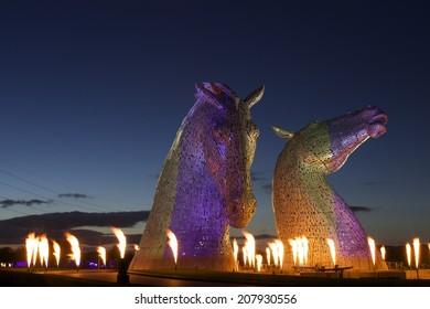 The KELPIES  'Launch Event' Falkirk, Scotland