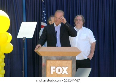 Kelsey Grammer and Matt Groening  at the ceremony dedicating US Postal Stamps to the Television Show 'The Simpsons'. Twentieth Century Fox, Los Angeles, CA. 05-07-09
