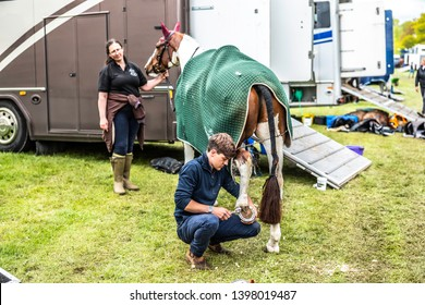 Kelso, Scottish Borders, UK. 12th May 2019. Floors Castle International Horse Trials 2019. Floors was built in 1721 by architect William Adam, and is now the largest inhabited castle in Scotland.