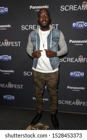 """Kelvin Frazer attends 19th Annual Horror Film Festival – ScreamFest - Opening Night """"Eat, Brains, Love"""" Los Angeles Premiere at TLC Chinese Theatre, Hollywood, CA on October 8, 2019"""