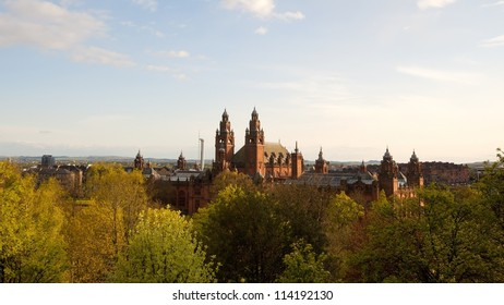 Kelvingrove Art Gallery and Museum, Glasgow. Designed  by Sir John W. Simpson and E.J. Milner Allen in Spanish Baroque style Kelvingrove is the first museum opened in Scotland.