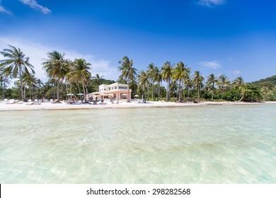 Kem Beach on Phu Quoc island, Vietnam