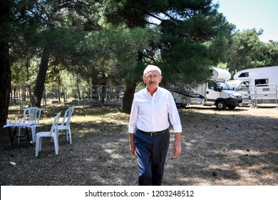 Kemal Kilicdaroglu is a Turkish csocial democrat politician. He is leader of the CHP. 2 June 2017 canaille at Turkey