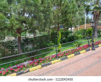 KEMER, TURKEY - MAY 9 2017: Beldibi-Goynuk-Kemer resort area in Turkey. Antalya region, Turkish riviera