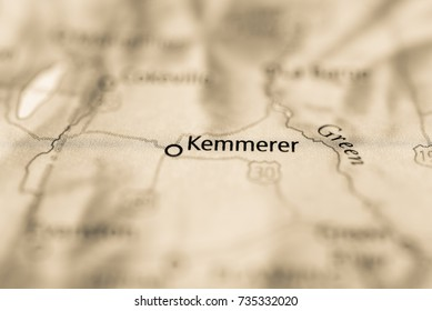 Kemmerer Wyoming Map.Royalty Free Kemmerer Wyoming Images Stock Photos Vectors