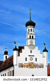 Kempten Baden-Württemberg/ Germany - 09 30 2019: Kempten is a city in Germany with many historical attractions