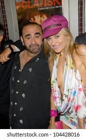 Ken Davitian and Paula LaBaredas at the Los Angeles Charity Benefit Premiere of 'Bad Cop'. Fairfax Cinemas, West Hollywood, CA. 07-09-09