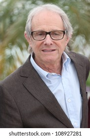 Ken Loach during the 'The Angel's Share' photocall during the 65th Cannes Film Festival, Cannes, France. 22/05/2012 Picture by: Henry Harris / Featureflash