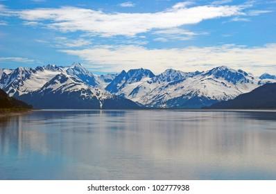 The Kenai Mountains near Girdwood, Alaska