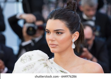 Kendall Jenner  at the 120 Beats Per Minute (120 Battements Par Minute)  premiere for at the 70th Festival de Cannes.May 20, 2017 Cannes, France