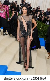 Kendall Jenner attends the 2017 Metropolitan Museum of Art Costume Institute Gala at the Metropolitan Museum of Art in New York, NY on May 1st, 2017