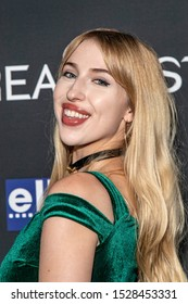 """Kendall Rucks attends 19th Annual Horror Film Festival – ScreamFest - Opening Night """"Eat, Brains, Love"""" Los Angeles Premiere at TLC Chinese Theatre, Hollywood, CA on October 8, 2019"""