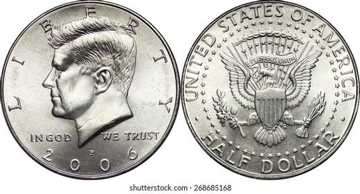 Kennedy Half Dollar Modern Clad