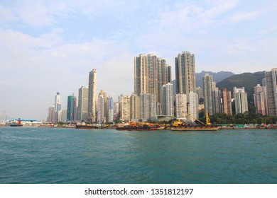 the Kennedy Town, Belcher Bay , hong kong , march 2014