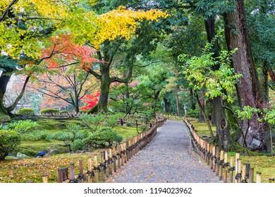 Kenroku-en garden, Kanazawa , Japan.