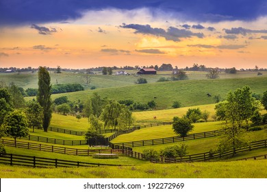 Kentucky country evening
