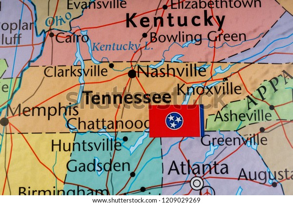 Kentucky State On Usa Map Stock Photo (Edit Now) 1209029269 on maryland state map of usa, kentucky on the map, utah state map of usa, kentucky map with counties marked, houston map of usa, kentucky state road maps,