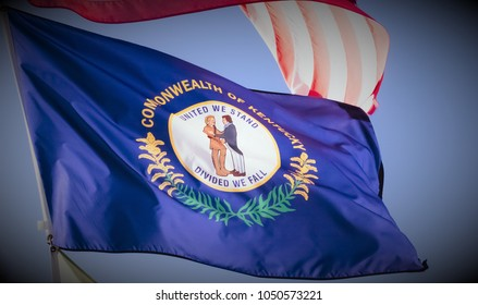 Kentucky's flag-Commonwealth State