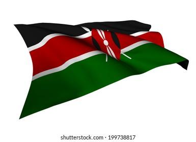 Kenya flag - collection no_5