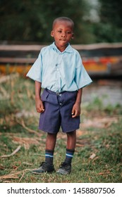 KENYA, RUSINGA island, UTAJO village - FEBRUARY 18, 2015: portraits from Africa, Kenya, Child