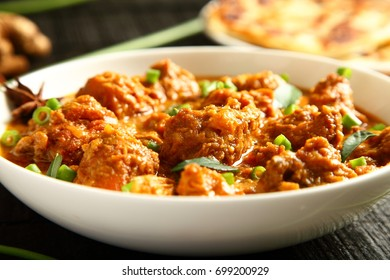 Kerala cuisine- traditional chicken curry dish.