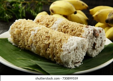 Kerala cuisine- wheat puttu