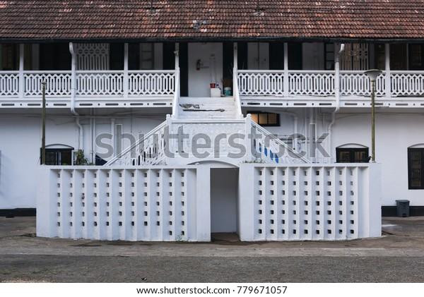 Kerala India January 12 Reflection Beautiful Buildings Landmarks Stock Image 779671057