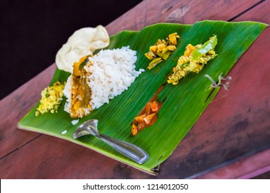 Kerala is known for its traditional banquet or sadya, a pure vegetarian meal served with boiled rice and a host of side-dishes served especially during special occasions and festivals.