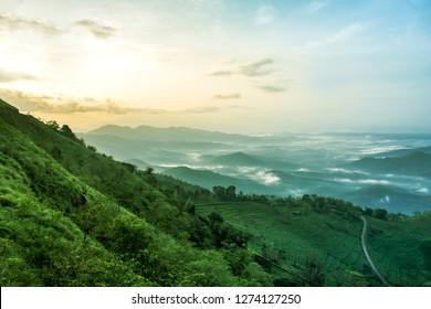 Kerala Natural Beauty, Top View of Palakkayam Thattu Beautiful Place to enjoy weekends adventure park and Trekking
